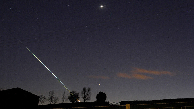 Video: Un meteorito cinco veces más brillante que la Luna impacta contra España
