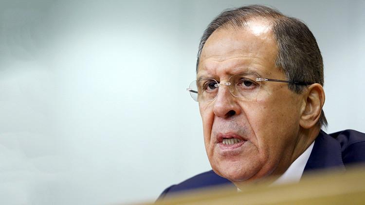 """Lavrov: """"No hay refugios seguros contra el terrorismo, al que debemos imponernos en equipo"""""""