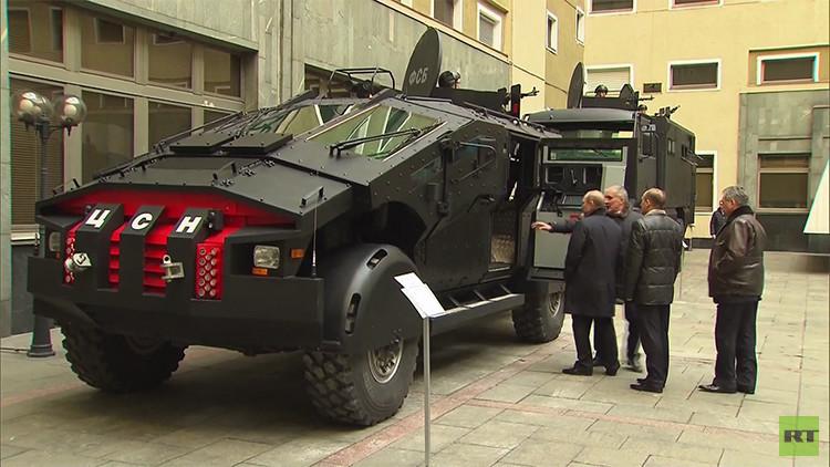 Video: Putin supervisa el nuevo 'Batimóvil' para los servicios secretos de Rusia
