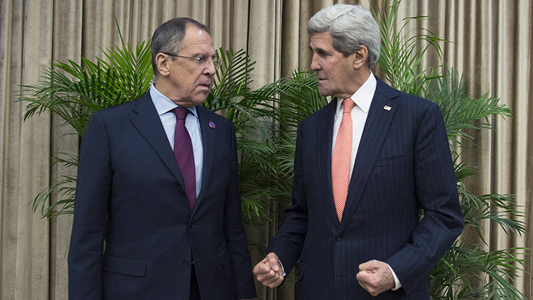 Lavrov y Kerry: Los mensajes provocadores sobre la violación de la tregua en Siria son inadmisibles