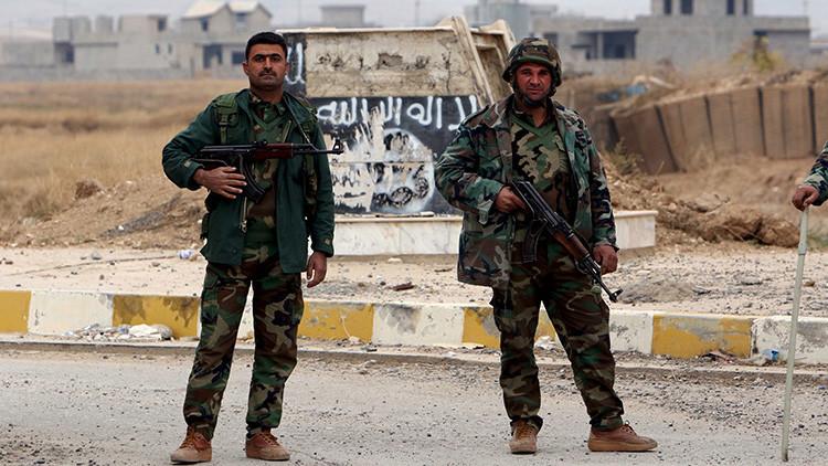 Estados Unidos comienza el entrenamiento militar de grupos kurdos en Irak
