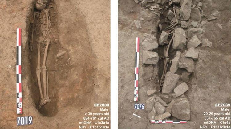 Tumbas ancestrales de musulmanes revelan los secretos del pasado de Europa