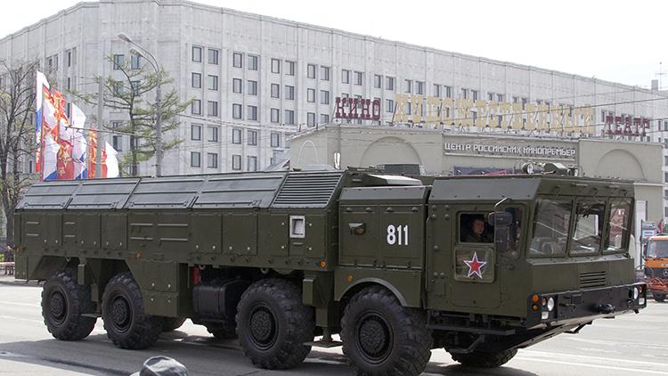 Rusia pone a prueba por primera vez los temibles misiles tácticos Iskander-M