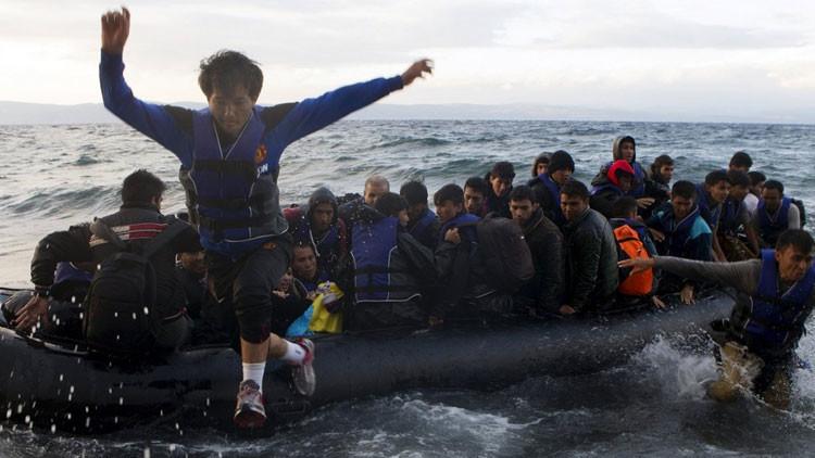 La complejidad de la crisis migratoria en la UE explicada en una sola y simple imagen