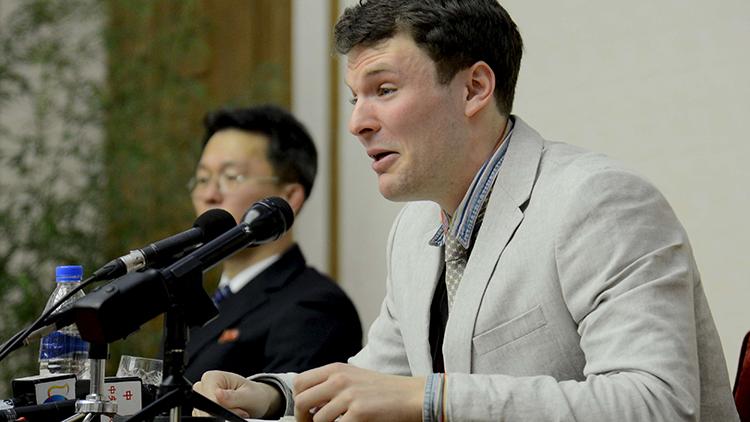 Joven estadounidense se echa a llorar tras confesar haber atentado contra Corea del Norte (video)