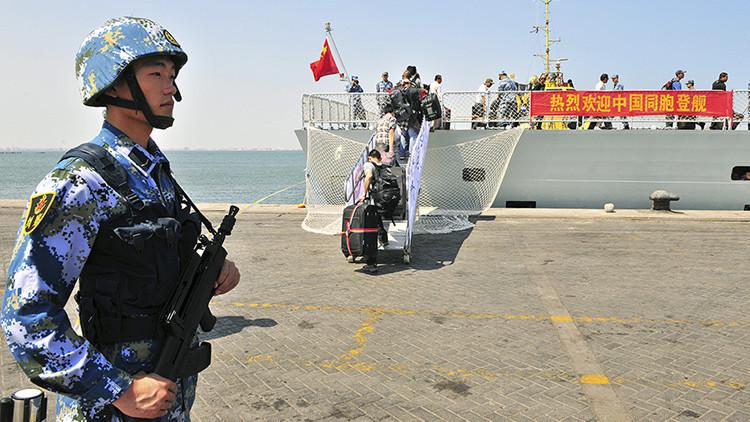 Confirmado: China empieza a construir su primera base naval en el extranjero