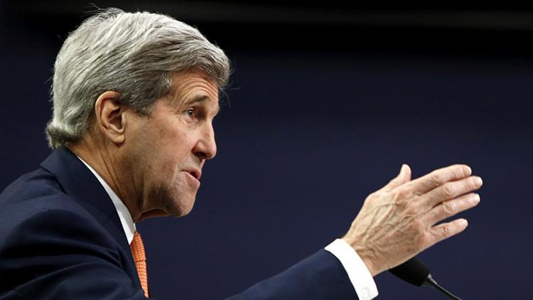 Kerry: EE.UU. y Rusia acuerdan crear un sistema operacional contra terroristas en Siria