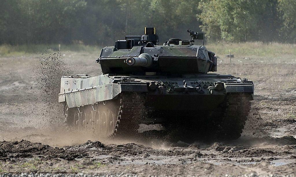 El tanque Leopard 2