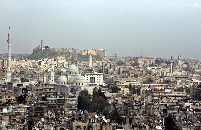 Aspecto de Alepo en 2006