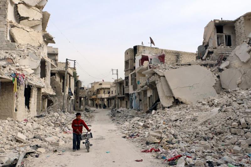 Aspecto actual de Alepo