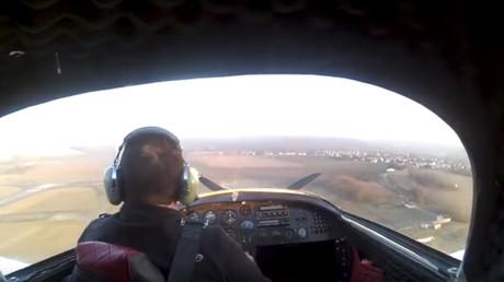 avioneta se estrella