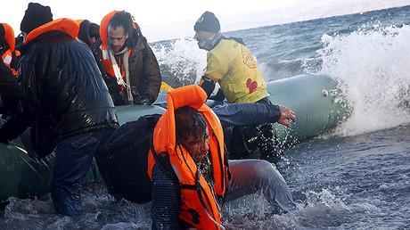 Foto ilustrativa. Refugiados de Siria e Irak atracaron en la isla griega de Lesbos el pasado 1 de enero.