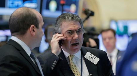 Bolsa de Nueva York. 9 de febrero de 2016.
