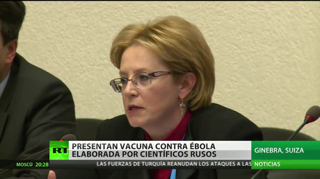 Presentan una vacuna contra el ébola elaborada por científicos rusos