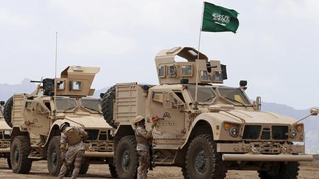 Las tropas saudíes en Yemen