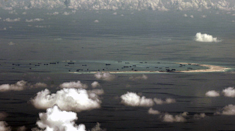Las islas Spratly, en el mar de la China Meridional