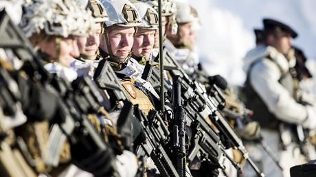 Soldados del Ejército de Noruega