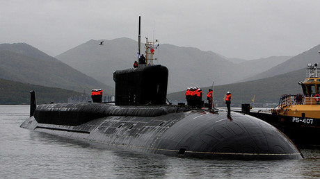 El submarino Alexander Nevsky