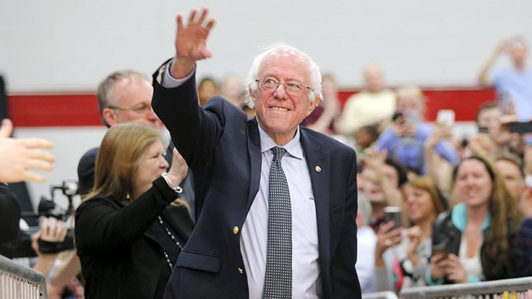 """Bernie Sanders envía un mensaje a EE.UU.: """"Tenemos que cambiar este sistema político corrompido"""""""