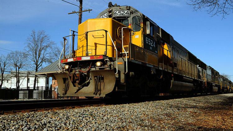 Se produce una fuga de etanol tras el descarrilamiento de un tren en el estado de Nueva York (Video)