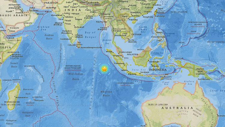 Un fuerte terremoto de magnitud 7,9 sacude Indonesia