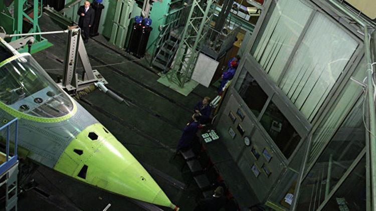 La firma rusa Sukhoi presenta su concepto de caza de sexta generación