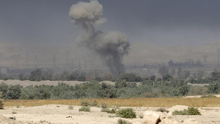 Video: Impactante derribo de un vehículo kamikaze del Estado Islámico en Irak