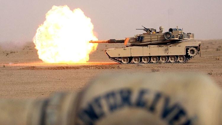 Así es la realidad: vídeo de una escaramuza de tanques contra el EI en Irak grabado con GoPro