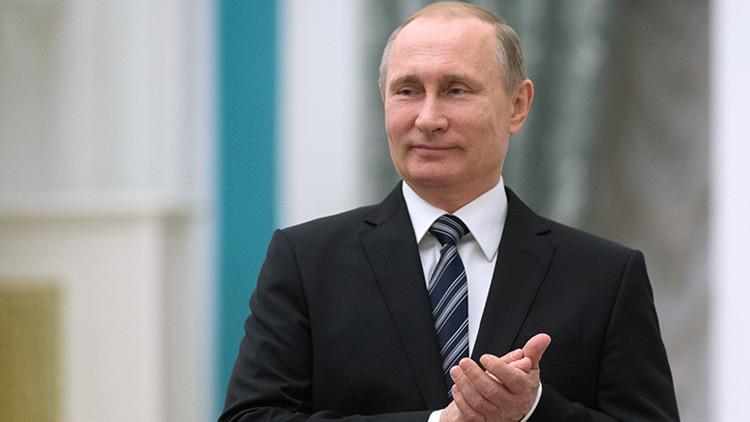 El 74 por ciento de los rusos votaría a Putin en las próximas elecciones
