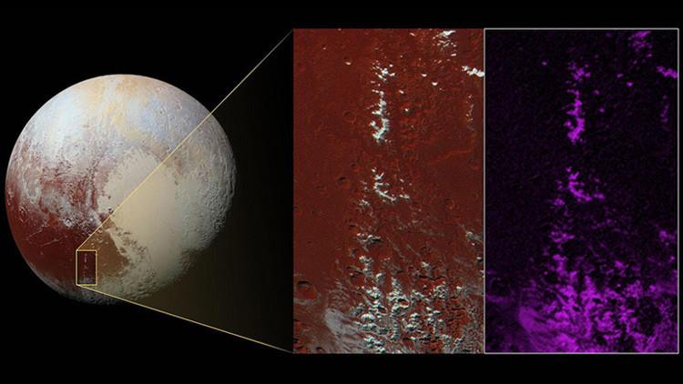 Todavía no es primavera en Plutón: encuentran nieve de metano en el planeta (Foto)