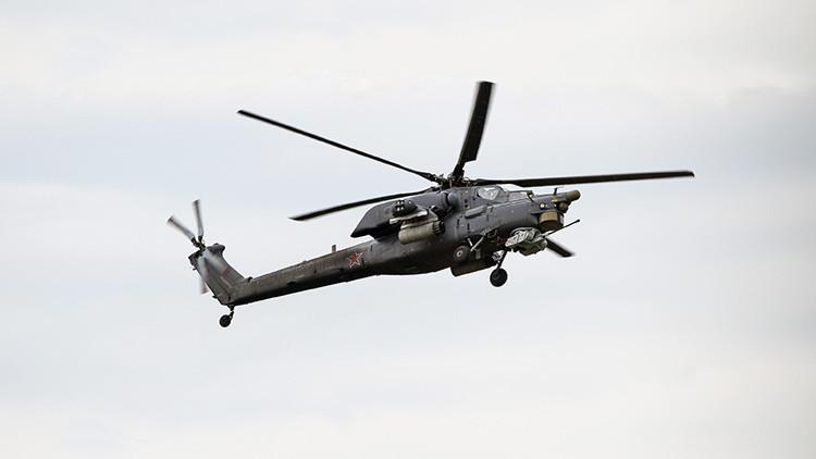 VIDEO: Un 'cazador nocturno' Mi-28 no deja ninguna esperanza a los terroristas en Irak
