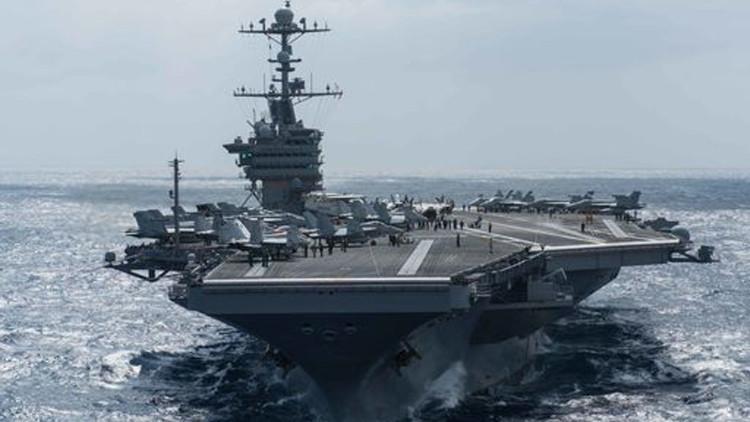 ¿Agresión rutinaria? EE.UU. envía al mar de la China Meridional un grupo de ataque de portaaviones