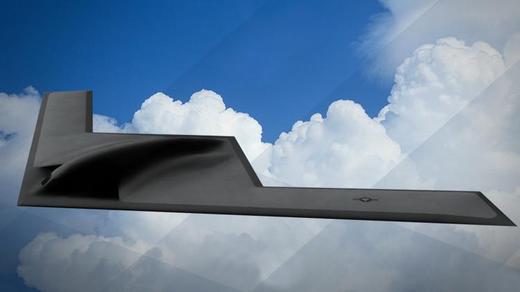 El cazabombardero B-21