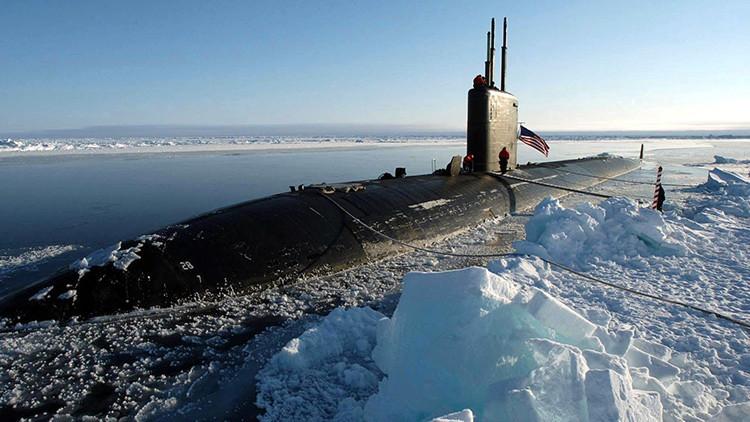EE.UU. envía robots y submarinos al hielo ártico en el marco de un ejercicio