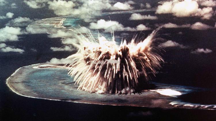 Geografía mortal: un mapamundi muestra todas las explosiones nucleares de la historia