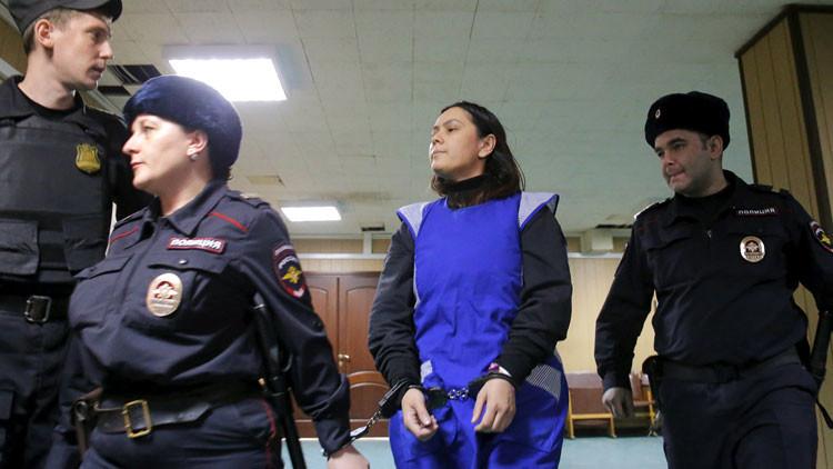 Moscú, estremecida por el macabro crimen de la niñera que decapitó a una menor de 4 años