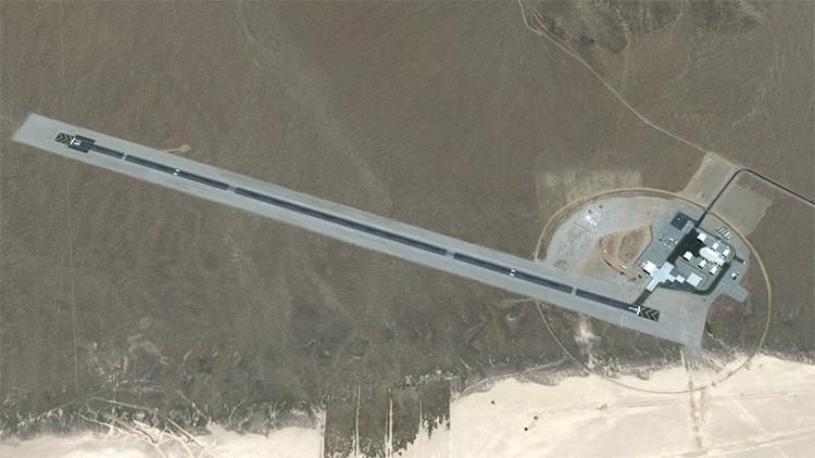 ¡Área 6 a la vista!: Google filtra una foto de la base ultrasecreta cuya existencia negaba EE.UU.