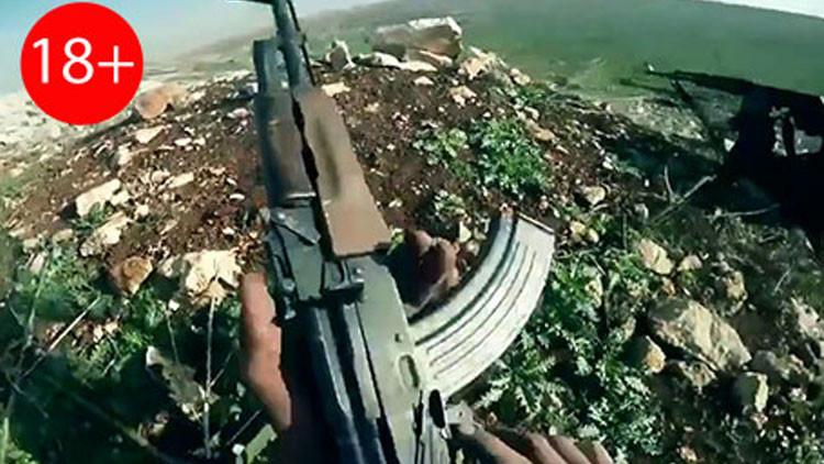 Video: Un terrorista graba su propia muerte en Siria