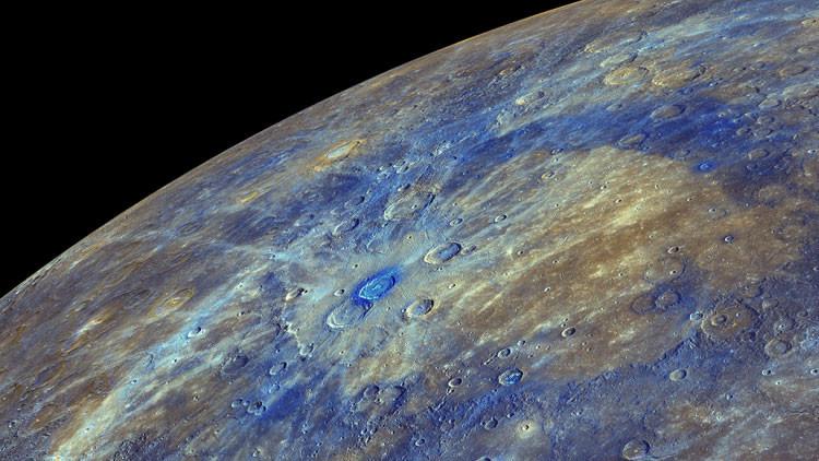 Revelan la causa de la oscuridad de la corteza de Mercurio