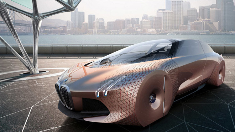 El auto del futuro: BMW revela sus líneas maestras para los próximos cien años