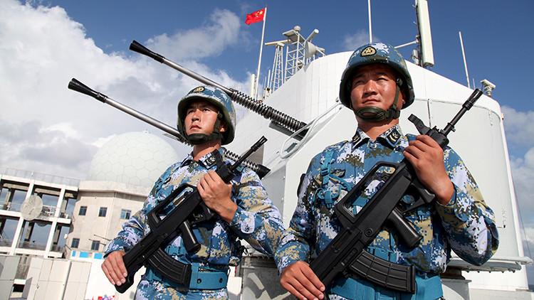 China: Tenemos derecho a situar objetivos militares en las islas en disputa