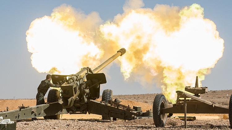El Ejército sirio se abre paso hacia la histórica ciudad de Palmira, ocupada por el Estado Islámico