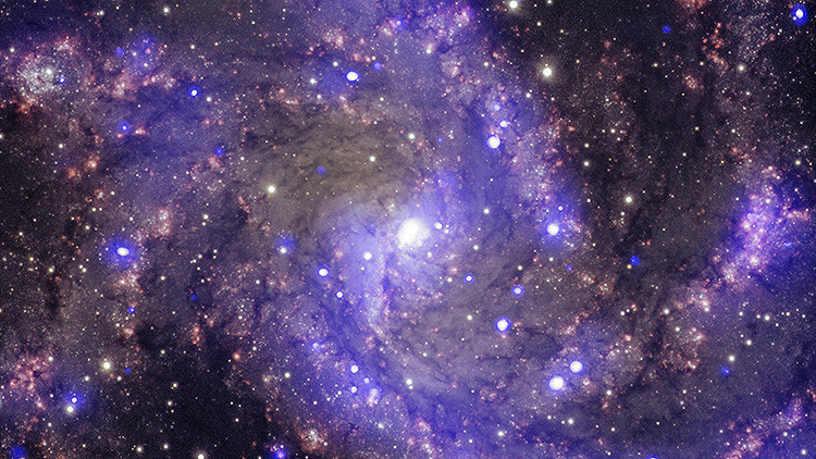 Descubren un Gran Muro galáctico, el objeto más gigantesco del universo