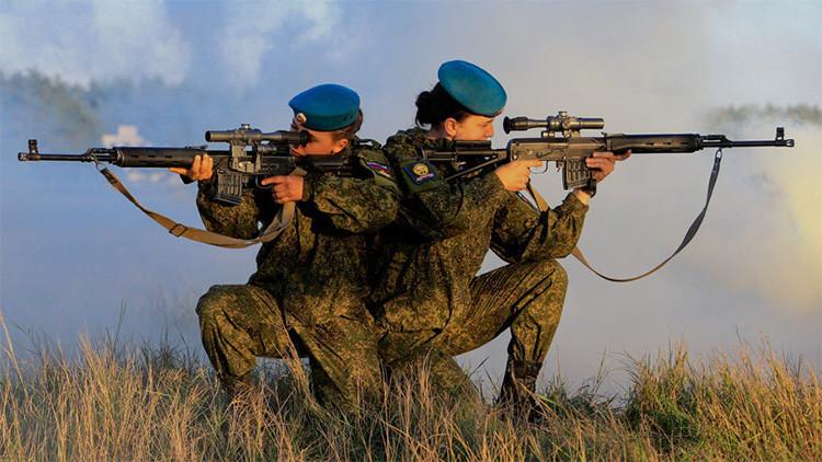 Bellezas uniformadas: Mujeres soldado en las tropas aerotransportadas rusas