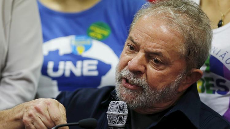 La Fiscalía de São Paulo denuncia al expresidente Lula da Silva