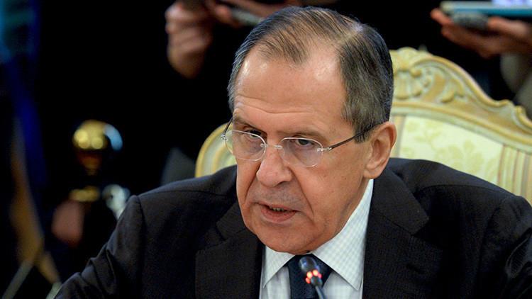 """Lavrov: """"No me sorprenderá si después acusan de dopaje a la diplomacia rusa"""""""