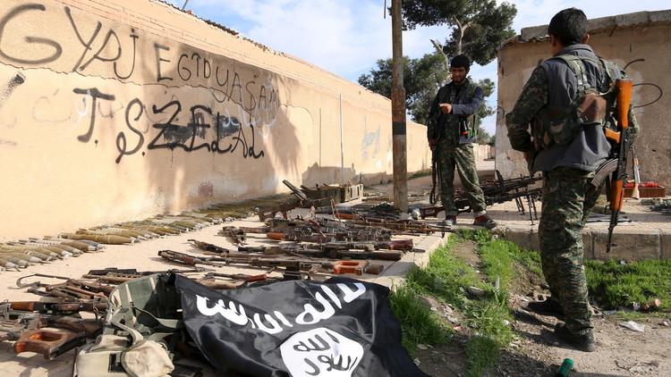 El Pentágono anuncia la captura del jefe de fabricación de armas químicas del Estado Islámico