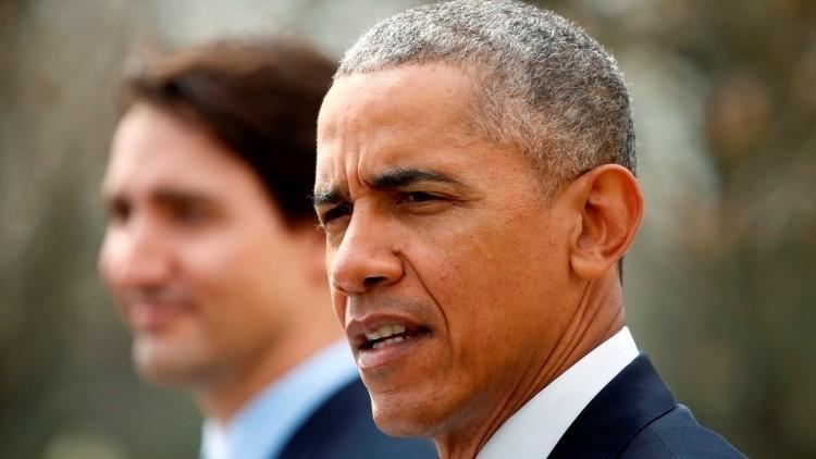 Obama se queja de que sus aliados lo hayan arrastrado a la guerra