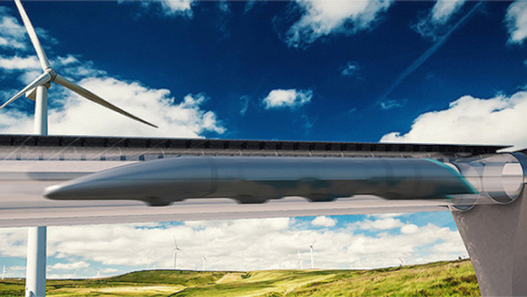 El transporte ultraveloz Hyperloop unirá dos capitales europeas en ocho minutos