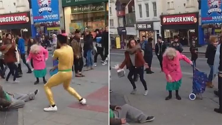 Esta anciana demuestra bailando que la edad es solo un número